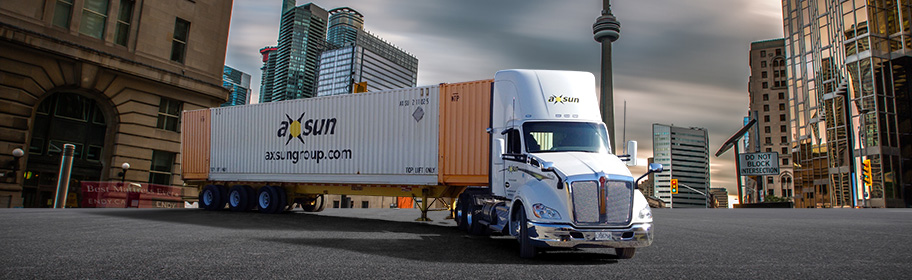 Axsun Canada company profile - intermodal transportation, logistics, warehousing, global freight