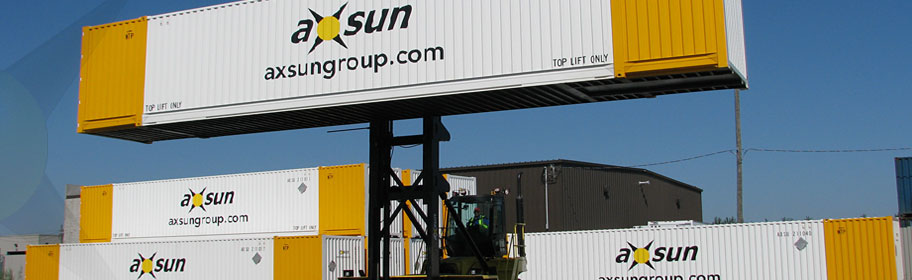 Axsun intermodal transport, warehousing, logistics and ltl, truckload trucking
